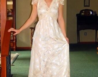 Aribella Bridal Gown-handmade-Vintage Styling-CRBoggs Original