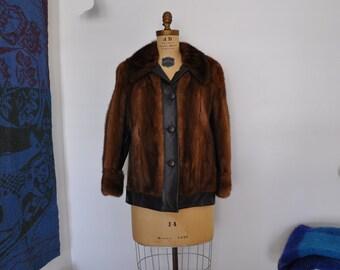1970s coat / A Groovy Girls Vintage 70's Mink Fur Coat