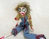 Bobby - A Horror Fantasy Creepy Zombie Art Doll