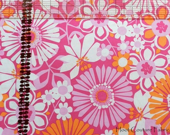 Ruth Ann CX5244 Pink & Orange Floral from Michael Miller Fabrics