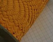 "Vintage Orange Rick Rack - Marigold Sewing Ric Rac Trim - 1/2"" - 10 Yards"