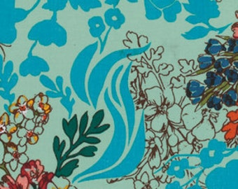 Anna Maria Horner Dowry Tangle Aquatic AMH70 - Available in Yards, Half Yards and Fat Quarters