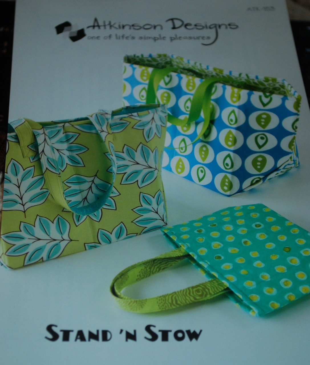 Atkinson Designs Stand N Stow : Stand n stow bag pattern atk by atkinson designs free