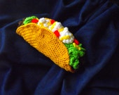 Custom Taco Pillow for Delish Haberdash