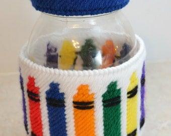 Crayon Jar Wrap PATTERN ONLY