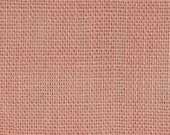 Peach Burlap Fabric By the Yard - 58 - 60 inches wide