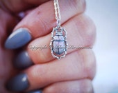 Baby Scarab Necklace - Sterling Silver Beetle Charm Pendant - Free Domestic Shipping