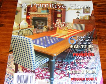 A Primitive Place and Country Journal Magazine by cottageprims