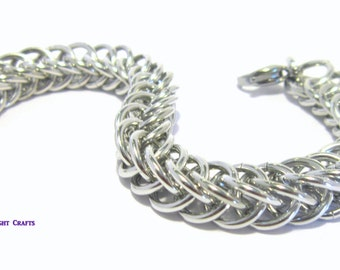Half Persian 4 in 1 chainmaille Bracelet
