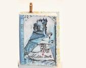 Jane Eyre Mini-Book Pendant - Gothic Bronze Pendant - Classic Novel Necklace - Charlotte Bronte Jewelry - Gothic Jewelry - Jane Eyre Jewelry