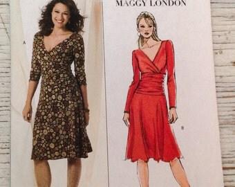 Butterick Dress Sewing Pattern B 4914 Plus Size 16 18  20  22 Maggy London