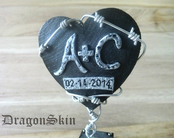 GOTHIC CAKE TOPPER - bark wire