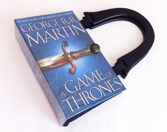 Game of Thrones Book Purse - A Song of Ice and Fire Book Purse - Game of Thrones Handbag - Purse made from a book