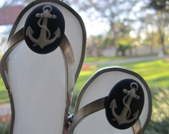 Anchor Flipflop Suncatcher