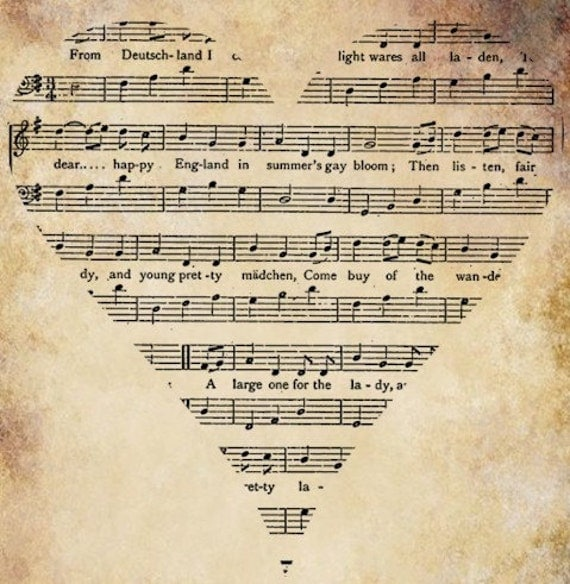 Sheet Music Heart Png Musical
