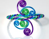 Twisted Spirals Adjustable Bracelet