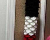 Pattern Only-PDF-Crochet Grocery Bag Holder, Kitchen Decor