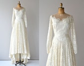 Lizanne wedding gown | vintage 1950s wedding dress • white lace 50s wedding gown