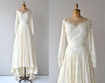 Lizanne wedding gown | vintage 1950s wedding dress • white lace 50s wedding gown