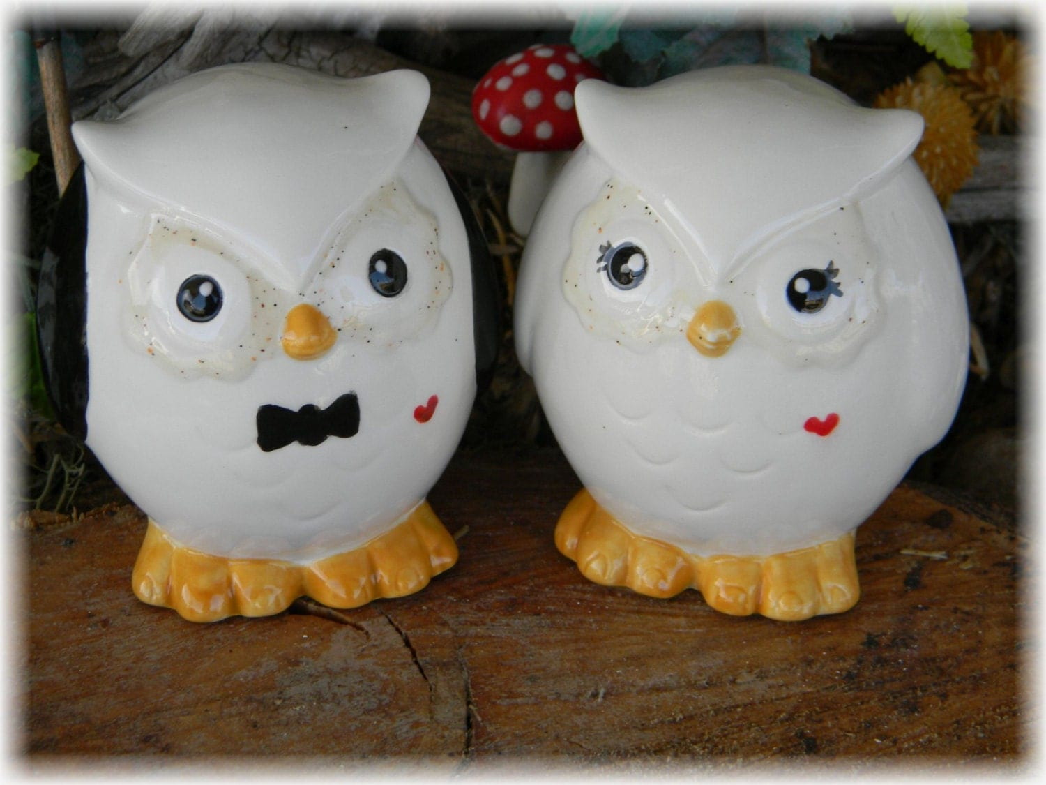 ceramic owl wedding cake toppers owl wedding cake toppers owl and groom ceramic glazed 12489