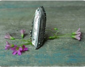 Made to Order: Portrait of a Dreamer- A Sterling Silver Feather Saddle Ring