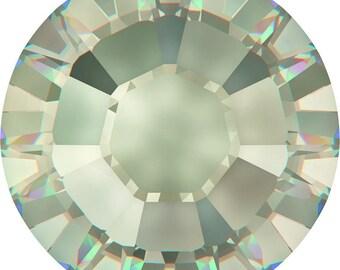 10ss/3mm Crystal Silver Shade #001SSHA Swarovski Flat Back Hotfix 2038 Crystals