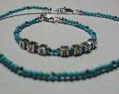 Name bracelet for a baby