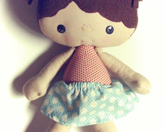 Friendly Faces Doll PDF Pattern