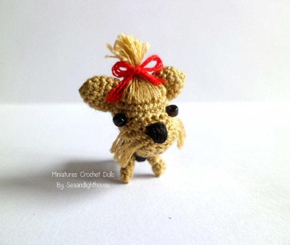 Wie Amigurumi Zusammennahen : ahnliche Artikel wie Kleine Amigurumi-Yorkshire-Terrier ...