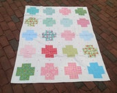 New Modern baby Girl Crib Quilt nursery decor gift
