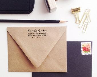 The Bombshell Address Stamp