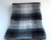 Vintage Wool Fabric, Plaid, Wool Yardage, Hooking, Small Projects, Wool Fabric, Wool Applique, Penny Rugs