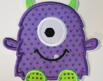 Iron On Applique - Little Monsters