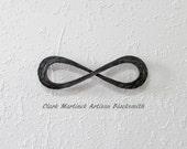 Iron Anniversary Gift - Steel Anniversary Gift -Personalized Wedding anniversary gift -Iron infinity