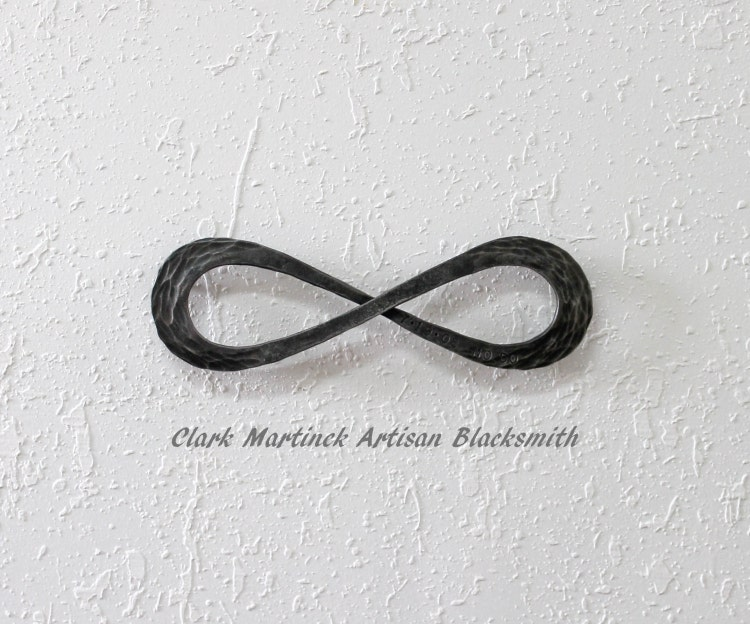 Iron Gifts For 6th Wedding Anniversary: Infinity Symbol Love Knot Iron Anniversary Gift By