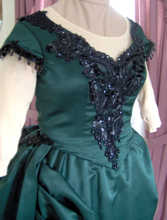 FOR ORDERS ONLY - Custom Made - 1800s Victorian Dance Dress 1870s ...