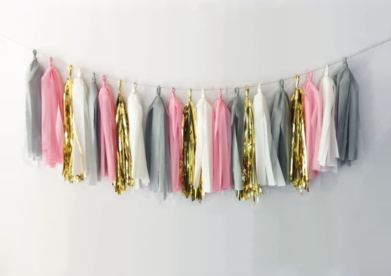 Cockatoo Tassel Garland