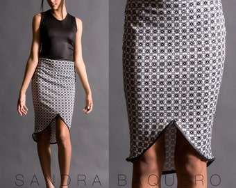Skirt with Binding