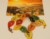 Russian Leaf Autumn Necklace