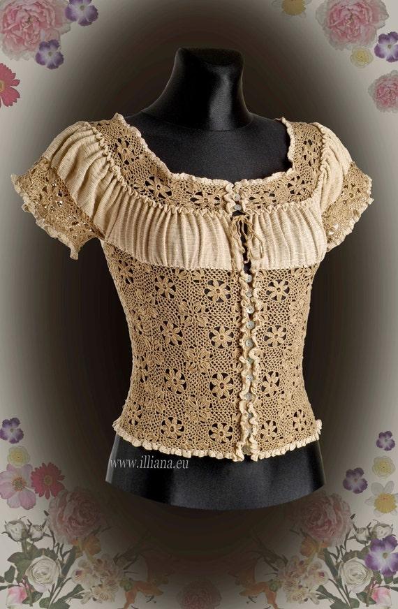 Handmade Crochet Blouse 23