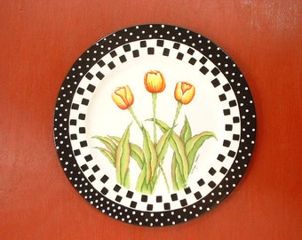 Yellow Tulips Decorative Art 731