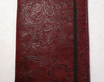 Kindle cover Hardcover, Kindle Paperwhite Cover, iPad Mini, Nook Tablet Cover, Maroon Vinyl