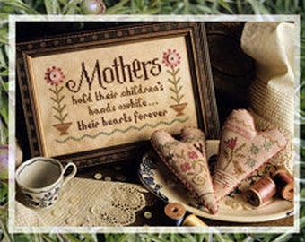 Lizzie Kate - Mothers #164 - Counted Cross Stitch Pattern Chart