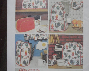SALE*** Simplicity 5495 Decorator Pattern Kitchen Appliance Covers