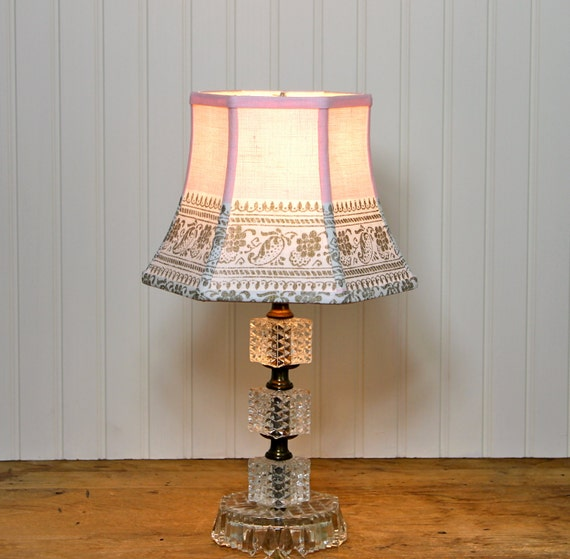 how to make shabby chic lamp shades