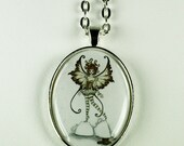 SALE Espresso Fairy necklace by Amy Brown