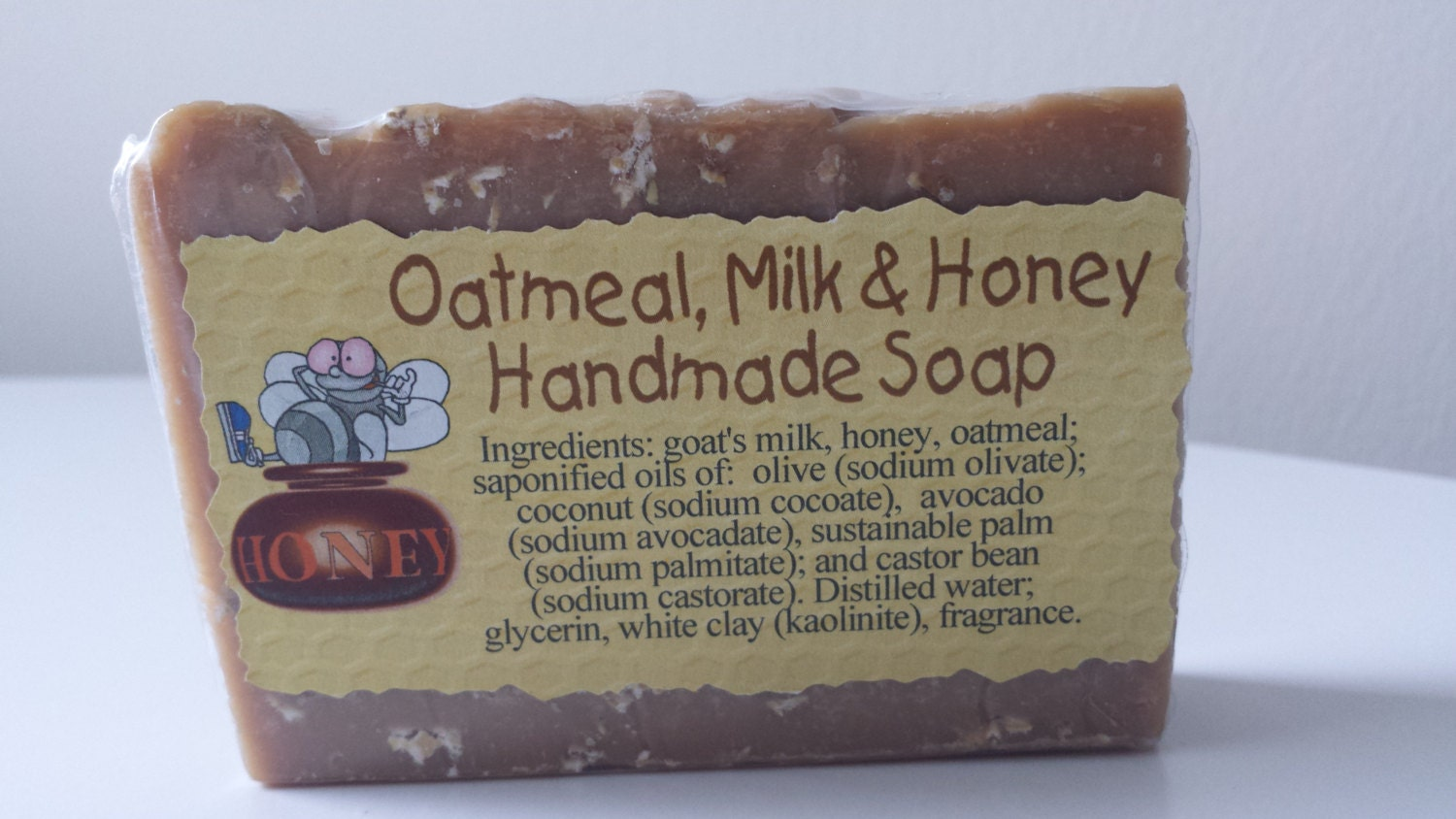 Oatmeal Milk & Honey Soap Oatmeal Soap Goat by 29ForeverSoaps