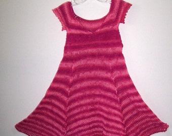 Summer dress with little ruffled sleeve