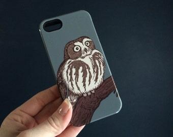 Rustic iPhone 7 Case Owl iPhone Case - Owl iPhone SE iPhone 6S, Galaxy S6, iPhone 6S Plus Case Woodland iPhone 7 Plus Case,