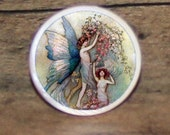 Butterfly wing FAIRY Tie tack or Cuff links or Ring or Pendant or Brooch